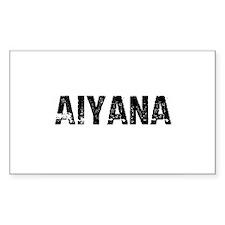 Aiyana Rectangle Decal
