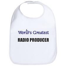 Worlds Greatest RADIO PRODUCER Bib