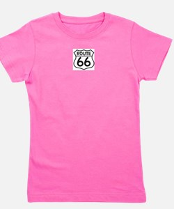 Funny Route 66 Girl's Tee
