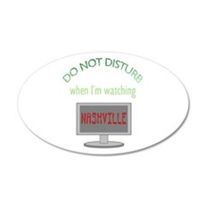Do Not Disturb Watching Nash Wall Decal