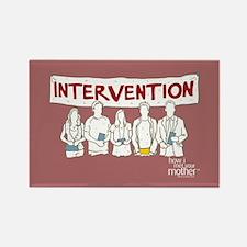 HIMYM Doodle Intervention Rectangle Magnet
