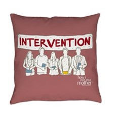 HIMYM Doodle Intervention Everyday Pillow