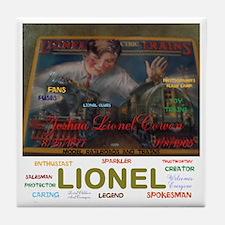 JOSHUA LIONEL COWEN, THE SPARKLER. Tile Coaster