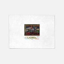 JOSHUA LIONEL COWEN, THE SPARKLER. 5'x7'Area Rug