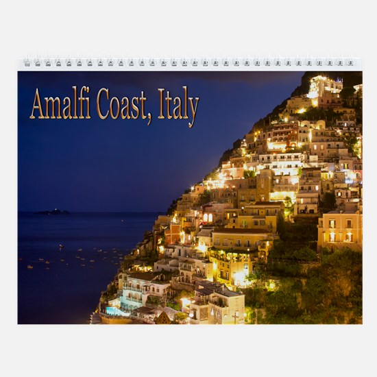 Amalfi Coast Italy Wall Calendar