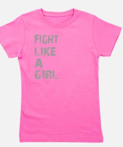 Cool Fight like girl Girl's Tee