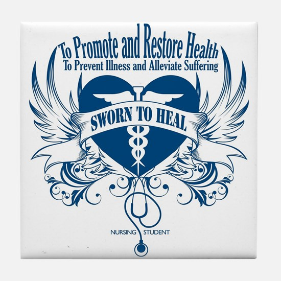 Sworn to Heal Tile Coaster