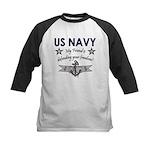 US Navy Friend Defending Kids Baseball Jersey
