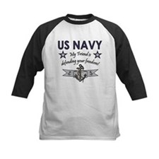 US Navy Friend Defending Tee