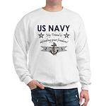 US Navy Friend Defending Sweatshirt