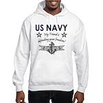 US Navy Friend Defending Hooded Sweatshirt