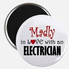 Madly In Love (Electrician) Magnet