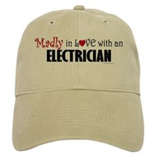 Madly In Love (Electrician) Baseball Cap