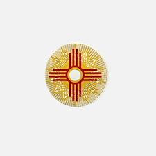 SUNBURST ZIA Mini Button