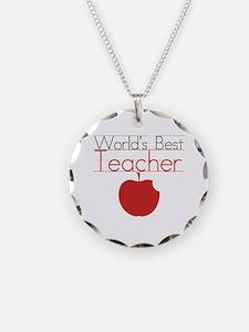 world's best teacher  Necklace