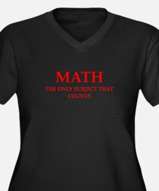 math Plus Size T-Shirt