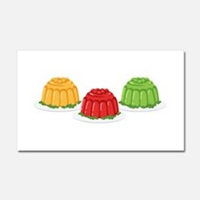 Jello Dessert Molds Car Magnet 20 x 12