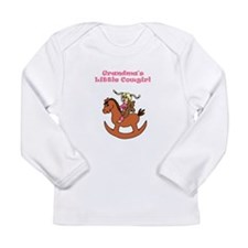 Funny Ponies Long Sleeve Infant T-Shirt