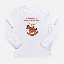 Funny Texas girl Long Sleeve Infant T-Shirt