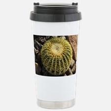Short Round Cactus Travel Mug