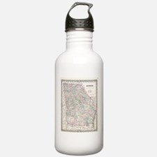 Vintage Map of Georgia Water Bottle