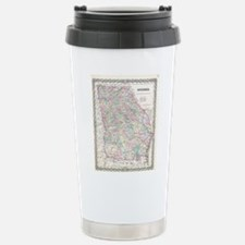 Vintage Map of Georgia Travel Mug