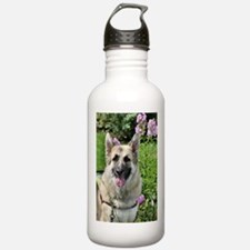 Cute Alsatian Water Bottle
