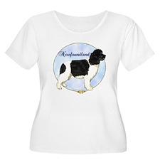 Newfie Portrait T-Shirt