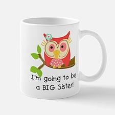 Owl Future Big Sister Mug Mugs