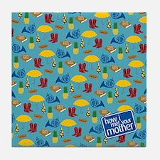 HIMYM Pattern Tile Coaster