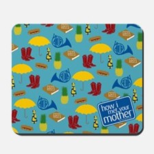 HIMYM Pattern Mousepad
