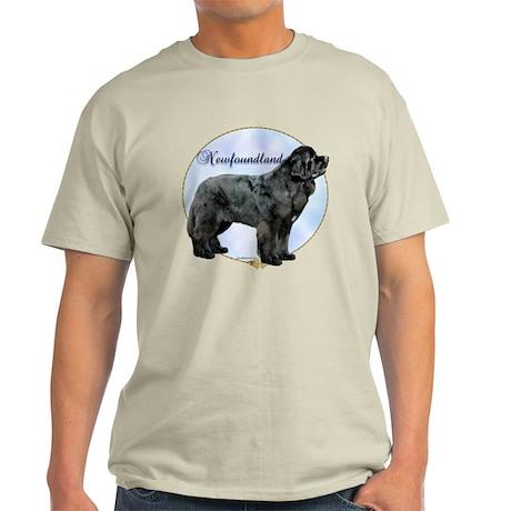 Newfie Portrait Light T-Shirt