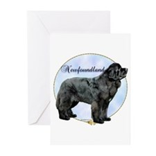 Newfie Portrait Greeting Cards (Pk of 20)
