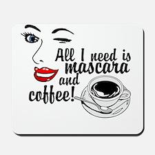 Mascara Coffee Mousepad