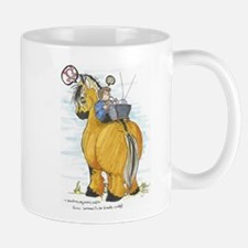 Cute Norwegian fjord horse Mug
