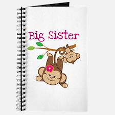 Monkey Big Sis W. Baby Bro Journal