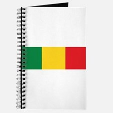 Green, Gold and Red Flag Journal