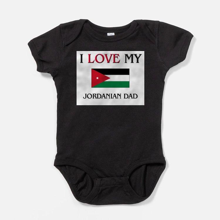 Cute Jordanian culture Baby Bodysuit