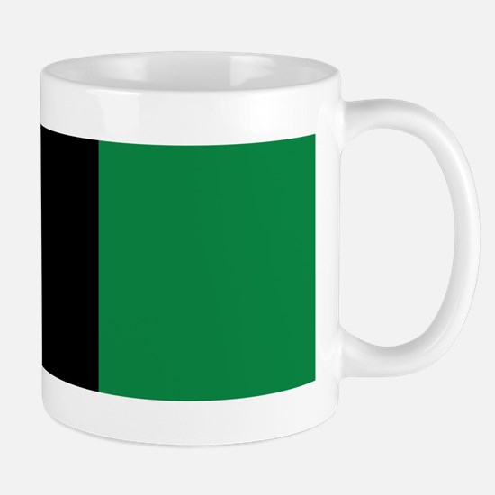 The Red, Black and Green Flag Mugs
