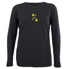 Stars Plus Size Long Sleeve Tee