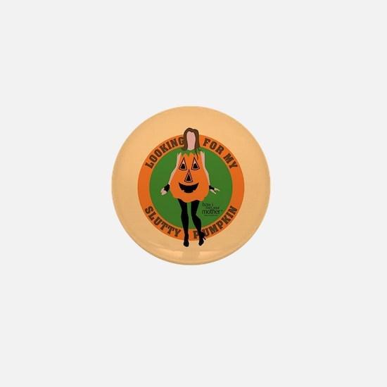 HIMYM Slutty Pumpkin Mini Button