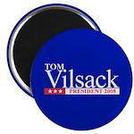 TOM VILSACK PRESIDENT 2008 2.25