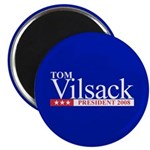 TOM VILSACK PRESIDENT 2008 Magnet