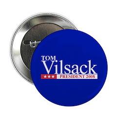 TOM VILSACK PRESIDENT 2008 Button