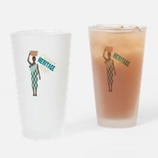 Cultural Heritage Drinking Glass