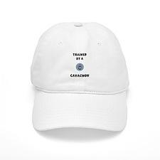 Trained by a Cavachon Baseball Cap