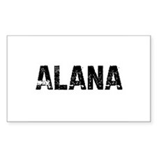 Alana Rectangle Decal