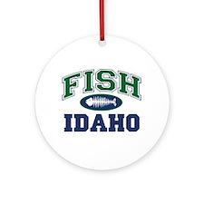 Fish Idaho Ornament (Round)