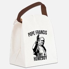 Pope Francis is My Homeboy Canvas Lunch Bag