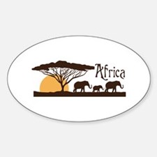 African Sunset Decal
